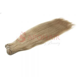 01 weave straight dark blonde