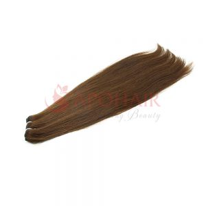 01 weave straight dark brown