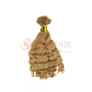 flat tip body wavy blonde
