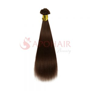 flat tip yaki straight brown