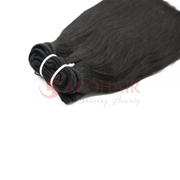 01 weave straight black
