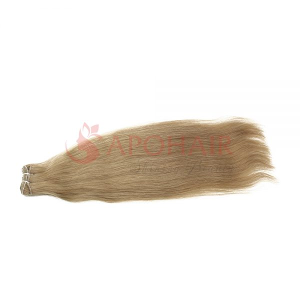 02 weave straight dark blonde