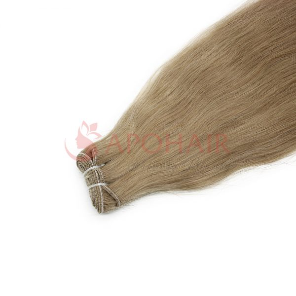 03 weave straight dark blonde
