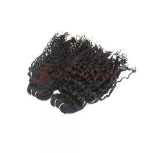 01 weave romantic curly black