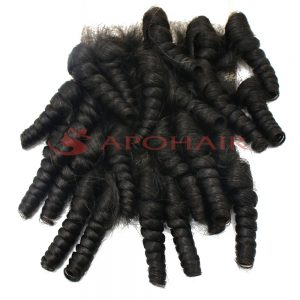 02 closure kinky curly black 5x5