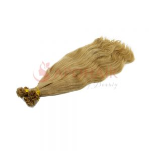02 flat tip natural wavy blonde