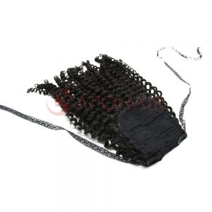 02 ponytail deep curly black