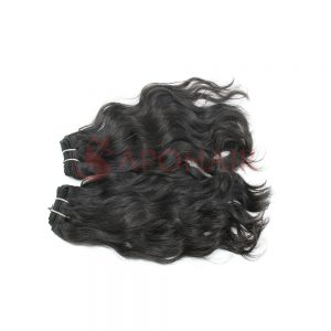 03 weave natural wavy black