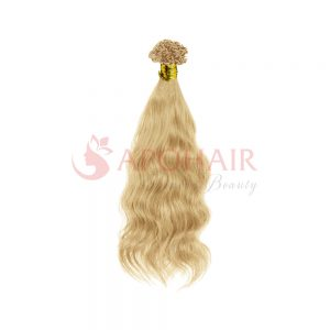 V tip Natural Wavy blonde 01