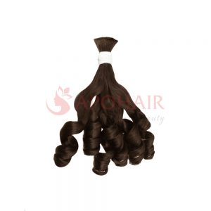 bulk bouncy wavy brown