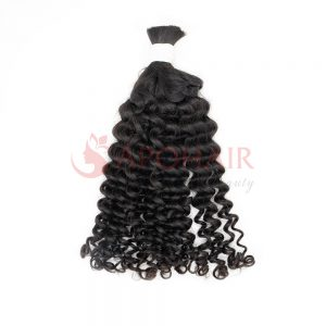 bulk loose curly black