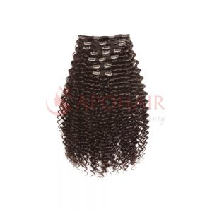 clip in deep curly dark brown 01