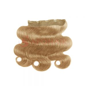 clip in water body wavy blonde 01