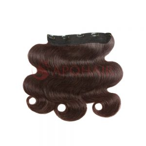 clip in water body wavy dark brown 01