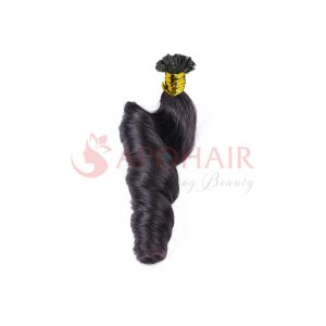 flat tip bouncy wavy black