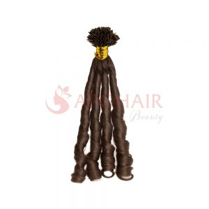 flat tip fumi curly brown 1