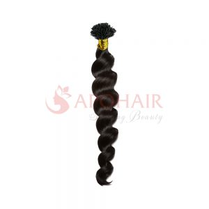 flat tip loose curly black