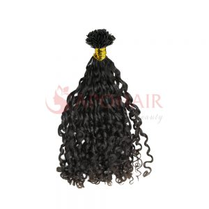 flat tip romantic curly black 1