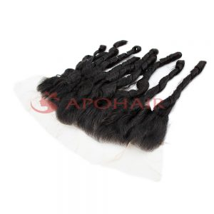 frontal fumi curly black