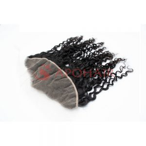 frontal romantic curly black