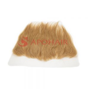 frontal straight blonde