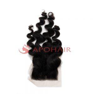 lace closure body wavy black 5x5