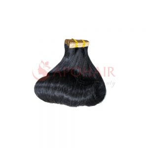Tape hair Fumi wavy Black color