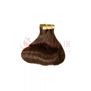 Tape hair Fumi wavy Brown color