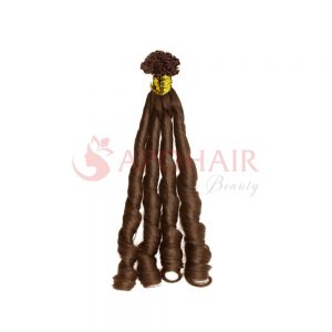 v tip fumi curly brown