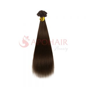 v tip yaki straight brown