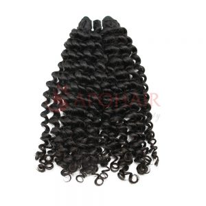 weave loose curly black