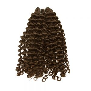 weave loose curly brown