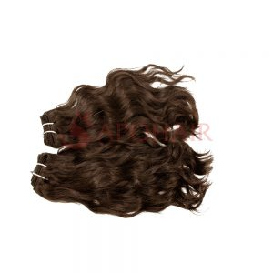 weave natural wavy brown