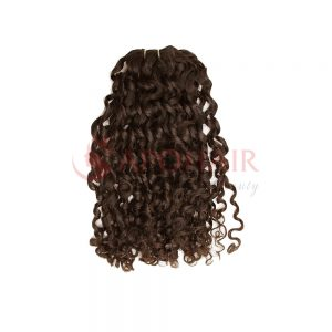 weave romantic curly brown
