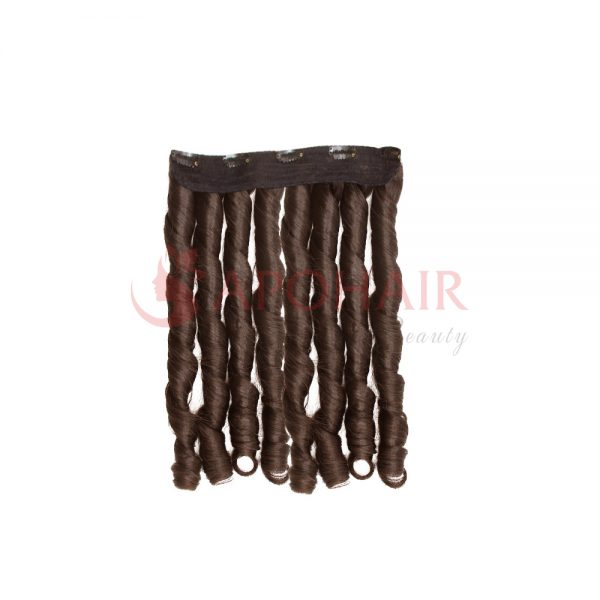 clip in fumi curly brown