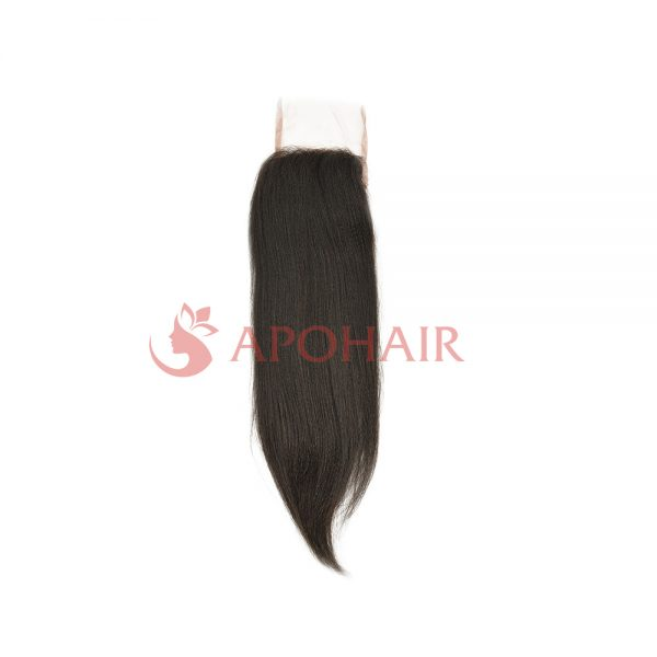 closure yaki straight black4x4