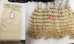 blonde hair extensions from APOHAIR