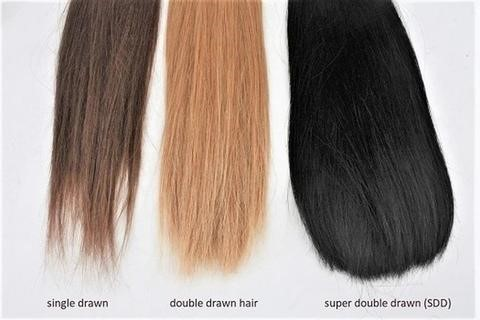 kinds of drawn hair extensions