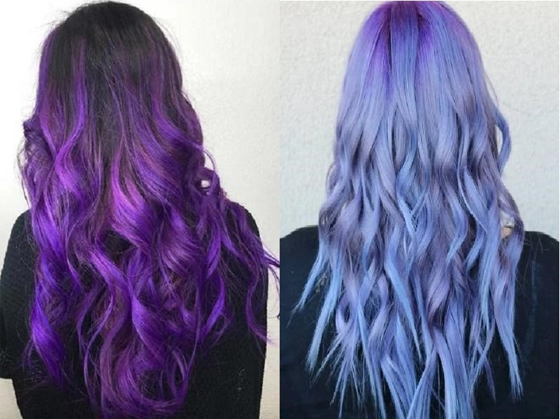 Suitable purple tones for your skin tone