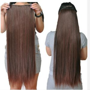 30 inch clip in human hair extensions