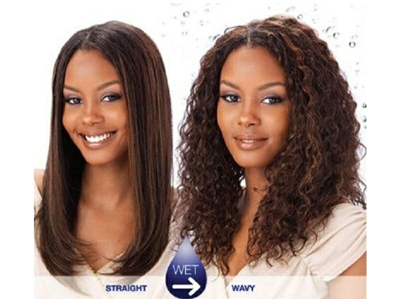 wet and wavy hairstyles