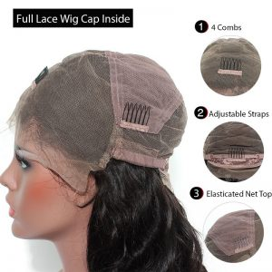 structure of full lace wig