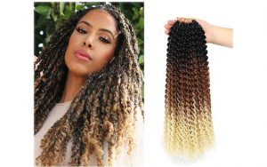 ombre crochet hair