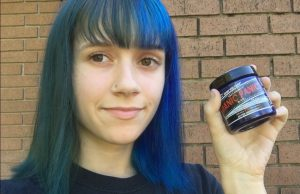 use manic panic for dark hair without bleaching