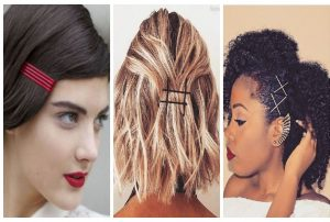 use bobby pins to secure
