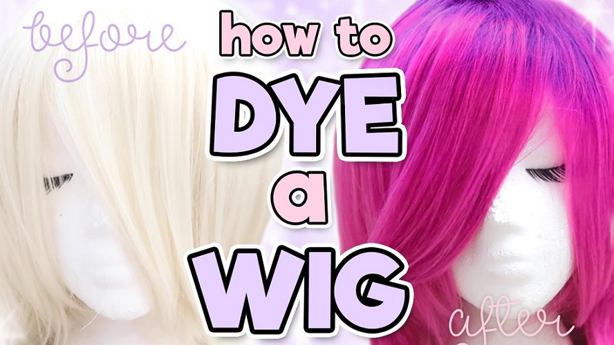 can you dye a wig