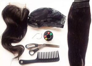 making a wig