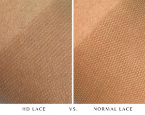 HD lace vs normal lace