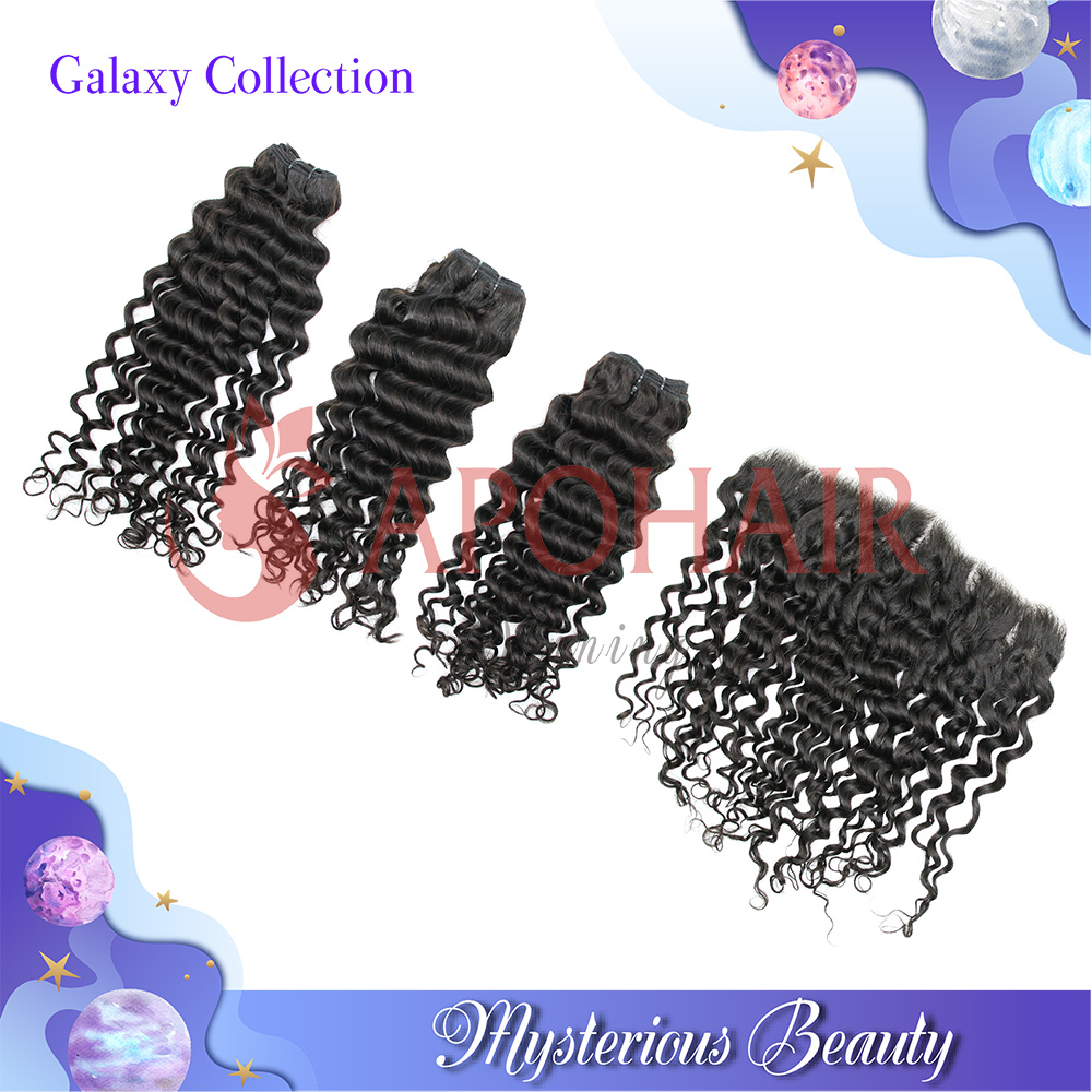 Galaxy Collection deep wavy bundles with frontal