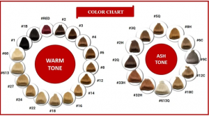 wig color chart